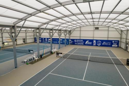 Tennis Club Hilairois (prise de vue au drone)